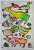 Gorgeous 'Aboriginal style' Animal art on the tunnel wall at  Bedminster station, Bristol (TempusVolat) Tags: art artistic wallart tunnel bedminster bristol garethwonfor tempusvolat tempus volat gareth wonfor mrmorodo