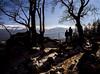 Enjoying the view. Karkonosze Mountains, Poland. (wojszyca) Tags: fuji fujica gsw680iii 6x8 120 mediumformat fujinon sw 65mm gossen lunaprosbc agfa agfachrome rsx ii 50 epson v800 landscape mountains karkonosze nature outdoors family
