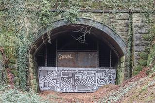 Walnut Tree Tunnel South Portal, March 2017