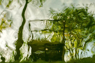 Impressionism - reflections on the lake 1