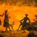 detail 1 - Eruption of Vesuvius - Pierre-Jacques Volaire