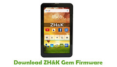 ZH&K Gem Firmware (AndroidRomFree.com) Tags: stock rom flash file firmware android