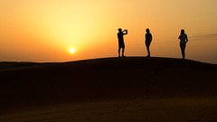 A magical moment (rinogas) Tags: oman desert sunset rinogas
