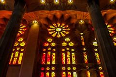 Sagrada Familia (gigiush (Emmanuel)) Tags: p barcelona spain sagradafamilia transatlanticcruise reflection apr2018 celebrityreflection antonigaudí cathedral