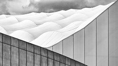 Lines and Curves (Leipzig_trifft_Wien) Tags: marseille provencealpescôtedazur frankreich fr line curve structure repeating minimalism roof wall city urban building vertical pattern form shape black white monochrome blackandwhite bnw