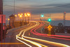 Coming & Going (seanbeebe_photo) Tags: longexposure mantoloking nj newjersey dusk traffic lighttrails bridge