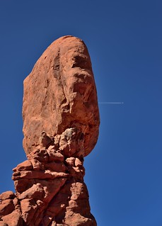 ...and a Flight Out the Other (Arches National Park)