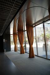 2018-04-FL-183496 (acme london) Tags: barcelona curtain entrance fira furniture hotel interior jeannouvel leather leathercurtain lobby renaissancehotelfira spain windscreen