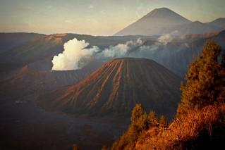 INDONESIEN, Java, Gunung Bromo,Batok und Semeru ( Vulkan-serie ), 17414/9971