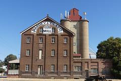 Pardey & Co. Ltd.  Flour Mill, Temora NSW. (PhotosbyDi) Tags: panasoniclumix pansonicfz300 lumixfz300 wagga newsouthwales visitwagga riverina heritage pardeyandcoltdtemora temora flourmill temoraflourmill