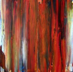 Red curtain (Peter Wachtmeister) Tags: artinformel mysticart modernart popart artbrut phantasticart minimalart art abstakt abstract abstrakt acrylicpaint surrealismus surrealism hanspeterwachtmeister