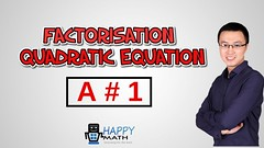 QUADRATIC - How to using FACTORISATION  for solving QUADRATIC EQUATION with a difference to 1 (languageleadlove) Tags: mathsgames algebra mathgamesforkids mathwebsites mathpractice mathsonline mathproblems funmathgames 5thgrademath mathsolver 4thgrademath mathisfun mathforkids quadraticequation quadratic factorisation