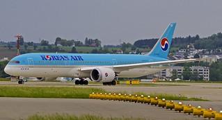 ZRH/LSZH: KoreanAirlines Boeing B787-9 Dreamliner HL-8085