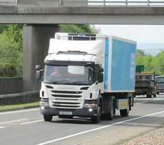 Wincanton ND13 HCA at Welshpool (Joshhowells27) Tags: lorry scania cooperative refrigerated wincanton p360 supermarket