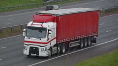 YX16 DKF (panmanstan) Tags: renault range wagon truck lorry commercial curtainsider freight transport haulage vehicle a1m fairburn yorkshire