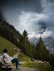 Foggy massif (Mikel.L.Ruiz) Tags: pfingstegg rybigässli grindelwald suiza switzerland mikel lopez ruiz