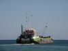 Vlaanderen VIII (IMO 9198214) (Parchimer) Tags: baggerschute hopperbarge schiff ship klappschute mukran rügen vorpommern