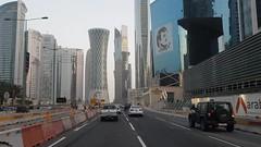 West Bay (www.iCandy.pw) Tags: driving qatar doha westbay