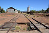 Railway goods shed and silos at the Quorn railyards, Flinders Ranges South Australia (contemplari1940) Tags: quorn flinders ranges goods shed silos railway railyards