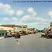 Ponce De Leon Boulevard Coral Gables Vintage Postcard