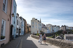 Afternoon Promenade (the underlord) Tags: tenby pembrokeshire westwales couple candid street pastelcolours roadtrip