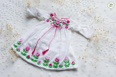 Handmade Embroidered Dresses (Ylang Garden) Tags: blythe handmade embroidery embroidered