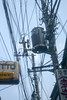 L1020359c (haru__q) Tags: leica m8 leicam8 leitz xenon shinjyuku golden street 新宿ゴールデン街 electrical wire telephone pole electricwire telephonepole 電線 電柱