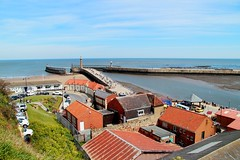 Whitby Harbour (Mike.Dales) Tags: whitby harbour pantiles northyorkshire northsea england