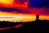 6602TS Lava Flow (foxxyg2) Tags: red sky sea lava volcano topaz topazsoftware niksoftware
