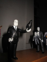 Alfred Hitchcock Suspense Film Director 2892 (Brechtbug) Tags: alfred hitchcock presents british director films like psycho birds other movies new york city 2018 nyc movie mythology myths picture midnite midnight feature horror suspense mystery black fashion ventriloquist dummy willie cliff robertson twilight zone reaction re action figure figures funko super 7 super7 bird uk english brit cigar film maker auteur 05232018 may spring