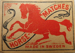 Vintage Swedish Match Box Labels (ART NAHPRO) Tags: vintage swedish match box labels