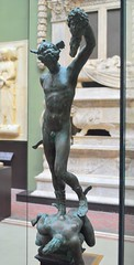 Benvenuto Cellini (1500-1571) - Model for Perseus and the Head of Medusa (c1545-54), painted plaster replica, Victoria and Albert Museum, London, April 2018, front (ketrin1407) Tags: cellini perseus medusa mythology renaissance italy florence preliminary victoriaandalbertmuseum va