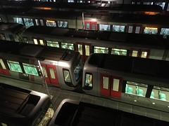 2018   RET- metrovoertuigen te Rotterdam (Arno Verhagen) Tags: ret rotterdam metro sgravenweg emplacement nachtrust eindedienst nietinstappen 5400 types sg21