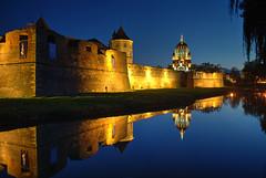 Făgăraș Reflections (hapulcu) Tags: fagaras fogaras fogarasch herbst romania romanya rumanien siebenbürgen transylvania automne autumn autunno castle otoño toamna
