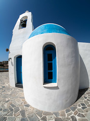 Saint Nicholas church. (CWhatPhotos) Tags: cwhatphotos digital camera pictures picture image images photo photos foto fotos that have which contain olympus st saint nicholas nicolaosbchurch chapel seafront golden coast beach hotel prayer wedding weddings blue sky skies doors door windows window white wall walls sunny day holiday cyprus eastern protaras church