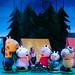 Peppa Pig's Adventure - Gerald Giraffe, Suzy Sheep, Daisy (Bronte Tadman) and Peppa Pig, George Pig, Pedro  (c) Dan Tsantilis