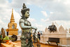 Wat Saket (Lцdо\/іс) Tags: ภูเขาทอง wat saket ratcha wora maha wihan วัดสระเกศราชวรมหาวิหาร bangkok thailande thailand thailandia thai travel statue asia golden mountain buddha buddhisme asian asie