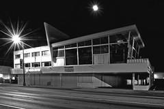 8000 Biscayne Boulevard Building, Miami, Florida, USA / Built: 1957 / Architect: Maurice Weintraub  / Floors: 3 / Architectural Style: Miami Modern (MiMo) (Photographer South Florida) Tags: 8000biscayneboulevardbuilding miami florida usa built1957 mauriceweintraub floors3 miamimodern mimo miamibeach miamigardens northmiamibeach northmiami miamishores cityscape city urban downtown density skyline skyscraper building highrise architecture centralbusinessdistrict miamidadecounty southflorida biscaynebay cosmopolitan metropolis metropolitan metro commercialproperty sunshinestate realestate tallbuilding midtownmiami commercialdistrict commercialoffice wynwoodedgewater residentialcondominium dodgeisland brickellkey southbeach portmiami sobe brickellfinancialdistrict keybiscayne artdeco museumpark brickell historicalsite miamiriver brickellavenuebridge midtown sunnyislesbeach moonovermiami