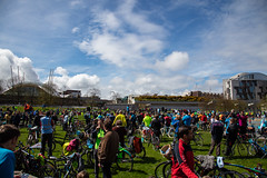 #POP2018  (177 of 230) (Philip Gillespie) Tags: pedal parliament pop pop18 pop2018 scotland edinburgh rally demonstration protest safer cycling canon 5dsr men women man woman kids children boys girls cycles bikes trikes fun feet hands heads swimming water wet urban colour red green yellow blue purple sun sky park clouds rain sunny high visibility wheels spokes police happy waving smiling road street helmets safety splash dogs people crowd group nature outdoors outside banners pool pond lake grass trees talking bike building sport