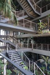 2018-04-FL-183515 (acme london) Tags: barcelona bridges corridor fira fireescape hotel jeannouvel landscape planting renaissancehotelfira spain stairs staricase