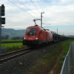 Güterzug nach Buchs SG