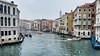 Canal traffic (halifaxlight) Tags: italy veneto venice grandcanal canal boats gondolas buildings windows traffic cityscape docks balconies