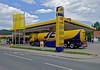 JET & BILLA stop & shop PETROL STATION (LitterART) Tags: tankstelle jet billa gratwein open tankwagen gasstation petrolstation tanklorry tanktruck tanker jettankstelle hdr sony stopshop billastopshop