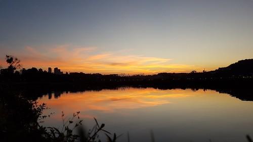 Pôr do Sol Parque Barigui