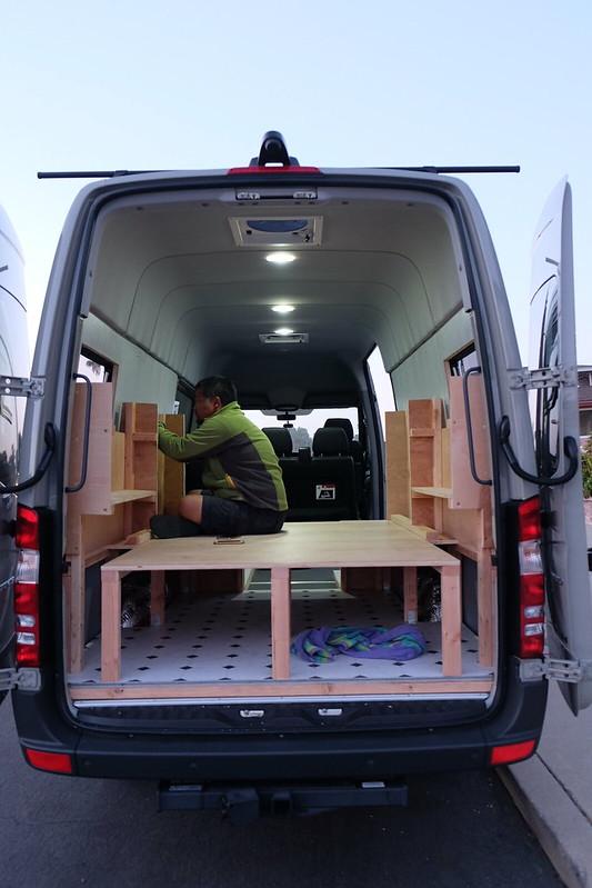 Sprinter van build day 21 042918