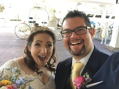 Wedding Day for Heather and Tony | MouseMingle.com