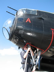 """Lancaster Bomber VRA 35 • <a style=""""font-size:0.8em;"""" href=""""http://www.flickr.com/photos/81723459@N04/41220785635/"""" target=""""_blank"""">View on Flickr</a>"""