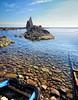 (245/18) Justo en la orilla (Pablo Arias) Tags: pabloarias photoshop photomatix capturenxd españa cielo nubes roca arrecife agua mar mediterráneo playa arrecifedelassirenas cabodegata almería