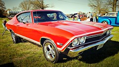 the REAL American muscle cars of the past | Chevy Chevelle (delmarvausa) Tags: chevy chevelle chevrolet red redcar thecolorred thingsthatarered chevychevelle cruisein marylandcarshows delmarva cruiseins cars automobile vintage blastfromthepast wheelsthatheal sbymd salisburymaryland wicomicocountymaryland salisburymd delmarvacarshows delmarvapeninsula easternshore maryland wicomicocountymd chrome classiccar classic car carshow