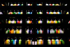 Soho Building, Odaiba, Tokyo (Black Hat Originals) Tags: night neon building winter doors street city cityscape cc adobe lights lightroom d5300 urban nikon soho coloured colours landscape instagood architecture honeymoon divercity odaiba japan tokyo